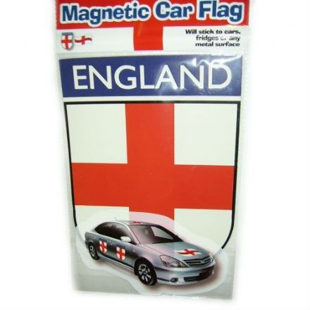England Magnetic Car Flag